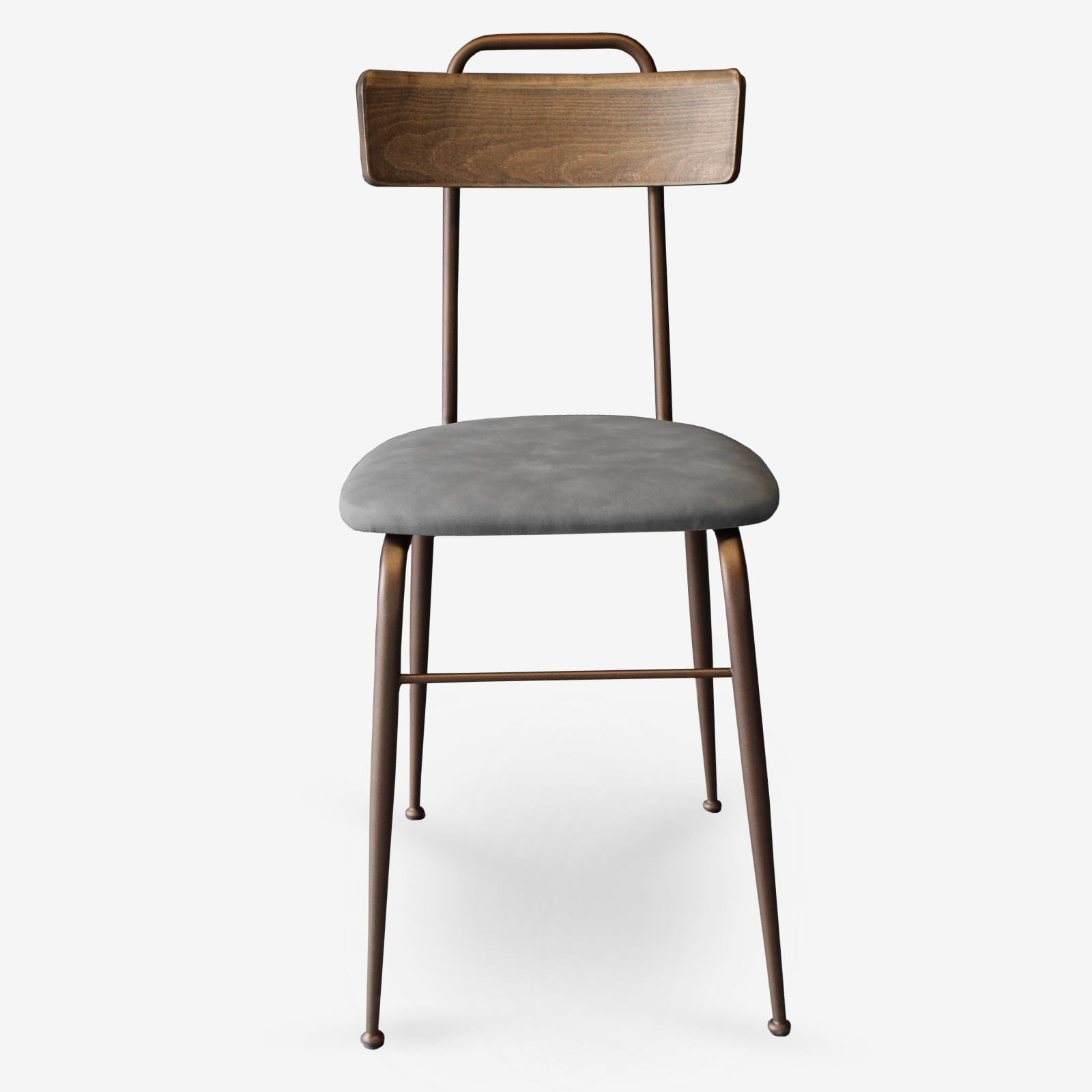 Sedie-in-ecopelle-e-metallo-bronzo-sedie-per-ristoranti-alberghi-bar-sedie-vintage-sedie-di-design-sedie-moderne-Clo- fgr